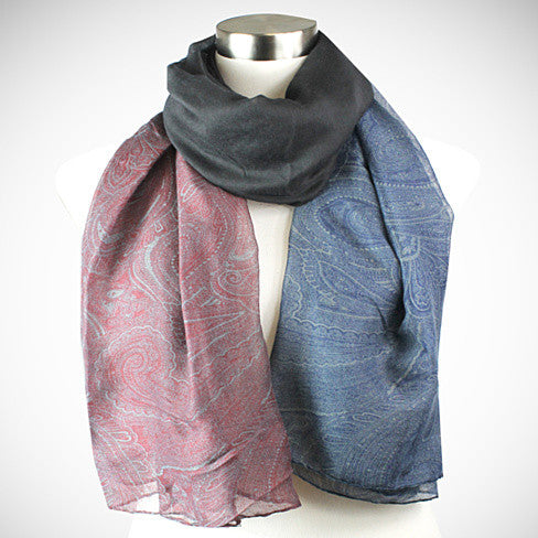 Pretty in Persia - The Paisley Scarves - VistaShops - 2