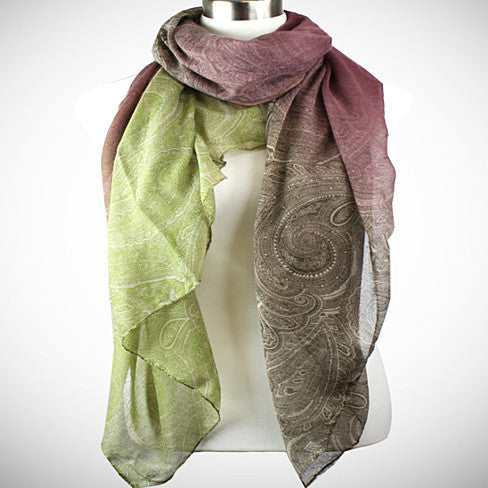 Pretty in Persia - The Paisley Scarves - VistaShops - 4