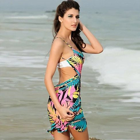 Palm Beach Sun Dress Soak Up The Sun - VistaShops - 2