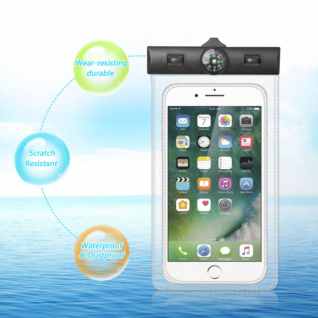 AQUA POUCH - Waterproof Pouch for your Smartphone and your Essentials 2 - Pack