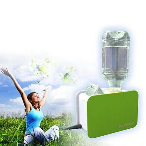 Portable Table Top Humidifier works with ordinary water bottle - VistaShops - 2