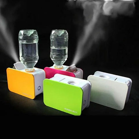 Portable Table Top Humidifier works with ordinary water bottle - VistaShops - 4