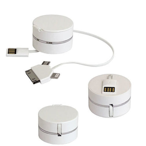 Pill Box Style 3 in 1 Cable to charge your Smart Devices - VistaShops - 2