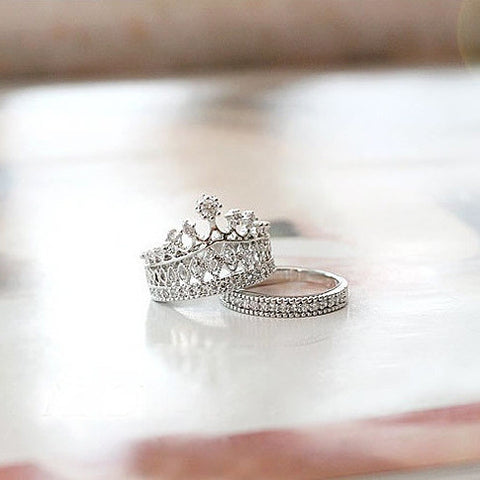 Princess Ring Set - VistaShops - 1