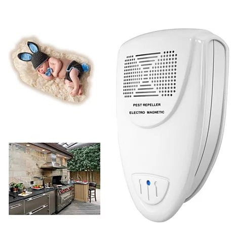QUITO MOSQUITO An Ultrasonic Digital All Pest Repeller - VistaShops - 3