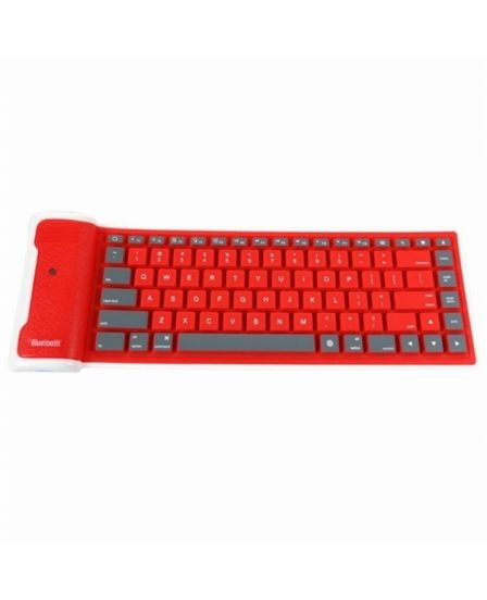 Type Out Of A Box With Flexible Silicone Bluetooth Keyboard