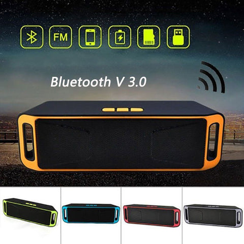 Tune Thunder Recharegable Wireless Bluetooth Portable Speaker Outdoor USB/TF/FM Radio Stereo