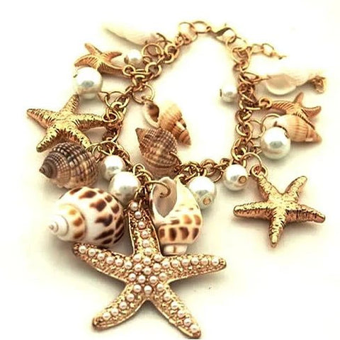 The Sweet Nature Sea Shell Bracelet - VistaShops - 1