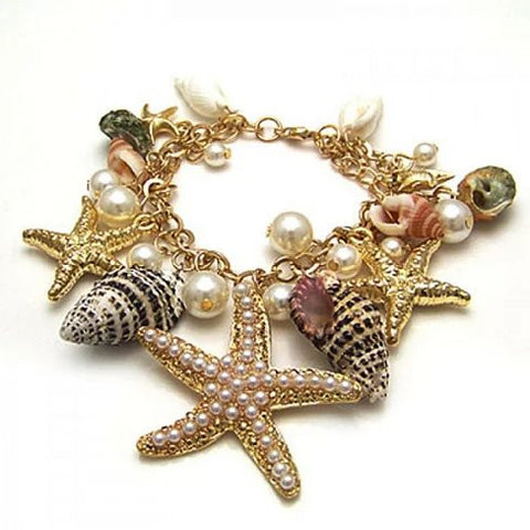 The Sweet Nature Sea Shell Bracelet - VistaShops - 2