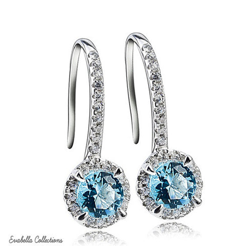 Silver Spell Jewels - The Created Diamond Earrings - VistaShops - 1