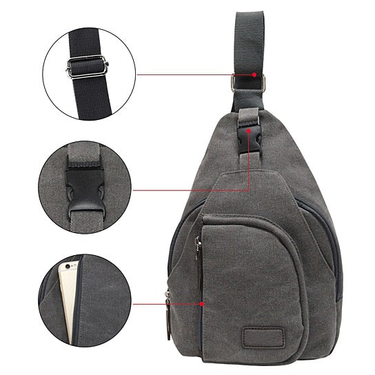 shopify-Sling Cling Cotton Canvas Messenger Bag in 5 Colors-7