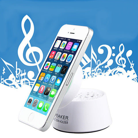 Smartphone Quick Portable Stand with Speaker