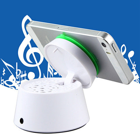 Smartphone Quick Portable Stand with Speaker - VistaShops - 3