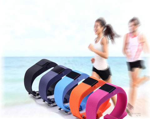 SMART FIT Mini + 1 Free Band a Fitness and Health Monitor Watch