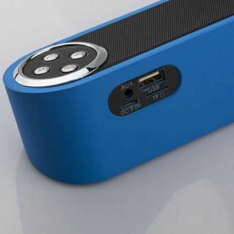Skinny is IN!! Colorful Bluetooth Speaker - VistaShops - 2