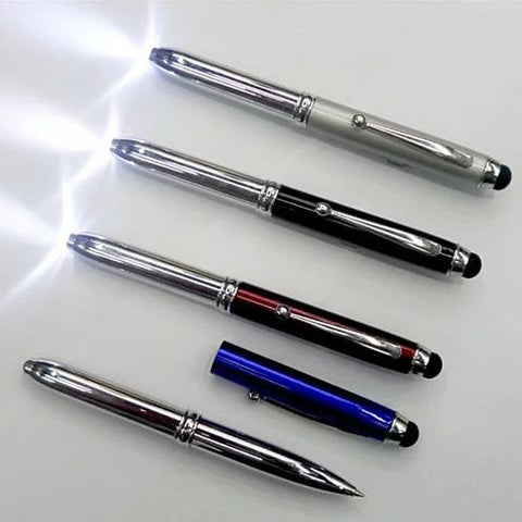 Light Us Stylus with 3 in 1  features - Stylus, Pen and Led Light