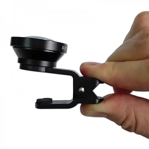 SUPER WIDE Clip and Snap Lens for iPhone and any Smartphone - VistaShops - 3