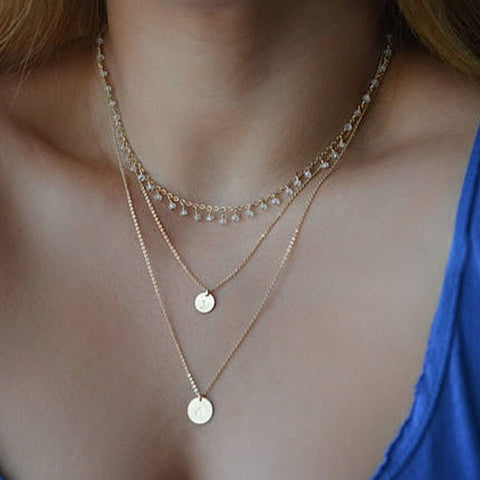 Sweet Rain Necklace - VistaShops - 1