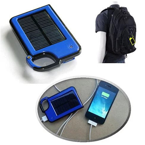 Clip-on Tag Along Solar Charger For Your Smartphone - VistaShops - 2