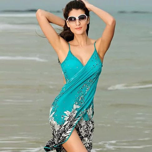 Tropical Beach Wrap - VistaShops - 1