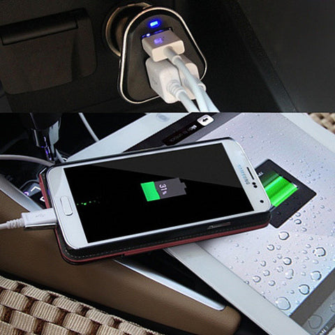 Urban Power with Triple USB Car Charger with 52 amps - VistaShops - 2