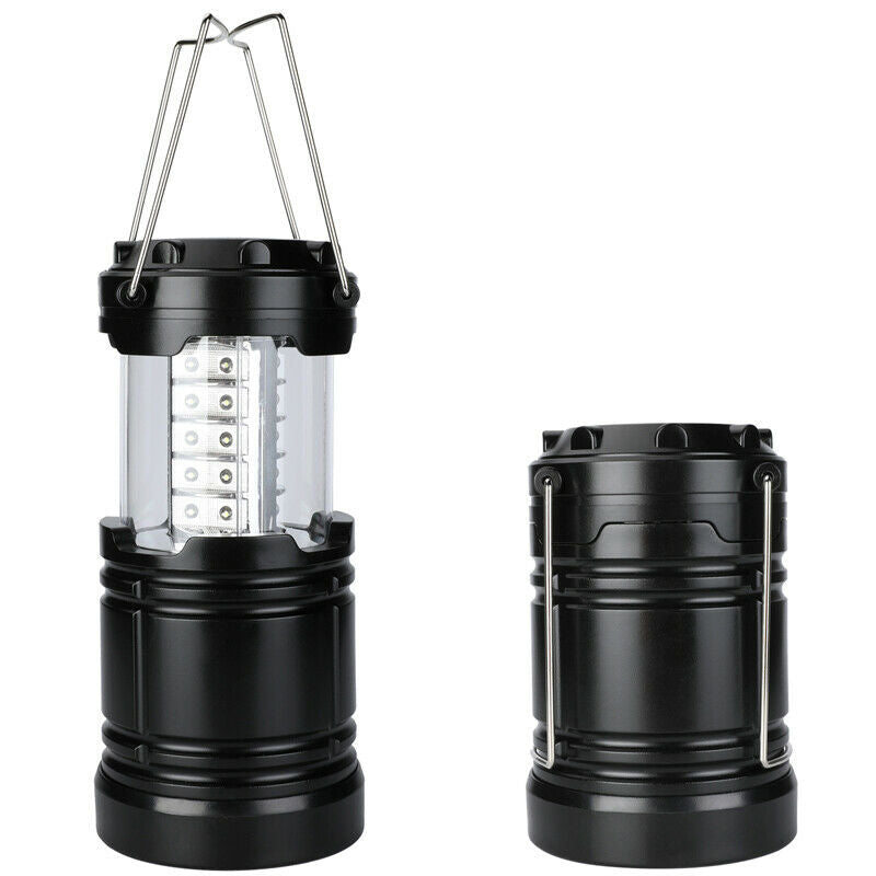Ultra-Bright Portable 30 LED Collapsible Camping Lantern Light and Tent Lamp