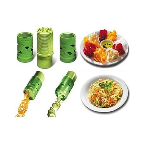 VEGGIE MAGICAL SLICER and Salad Decorator - VistaShops - 1