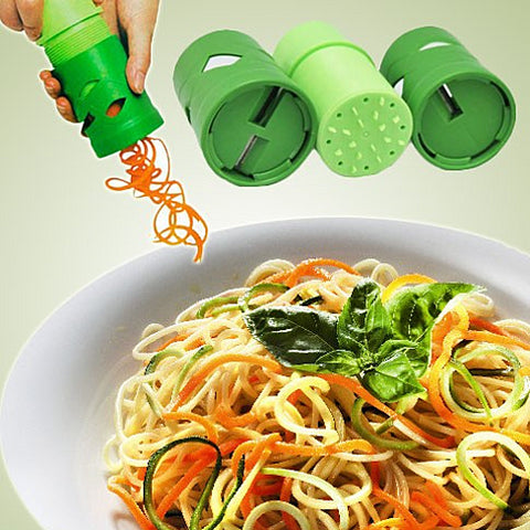 VEGGIE MAGICAL SLICER and Salad Decorator - VistaShops - 2