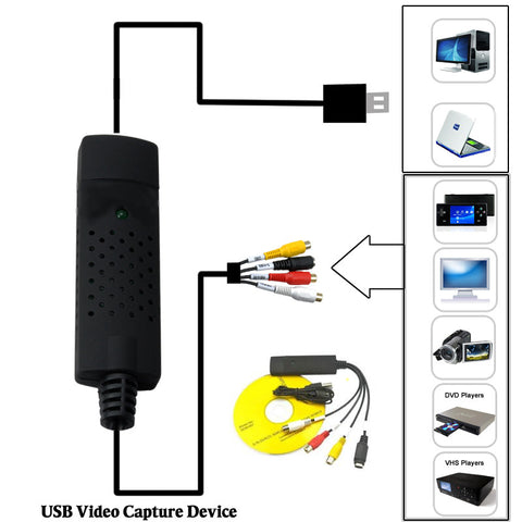 Digital Video Transfer Convert & Store device - VistaShops - 2