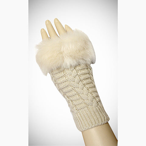 Pretty Warmers - Faux Fur Gloves for Winter - VistaShops - 2