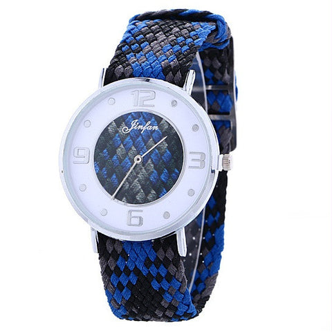 Friendship Watch With Sporty Belt And Quartz Movement