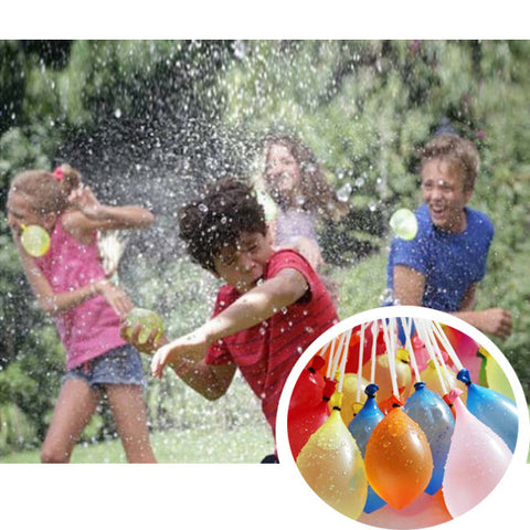 Bang Bang Balloons Fill 60 Water Balloons in 30 seconds or less