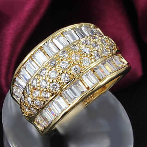 THE REGAL - Big Baguette Ring - VistaShops - 2