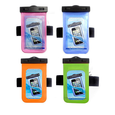 Waterproof Bag for you Smartphone with Music Out Jack and Waterproof Headphones - VistaShops - 4