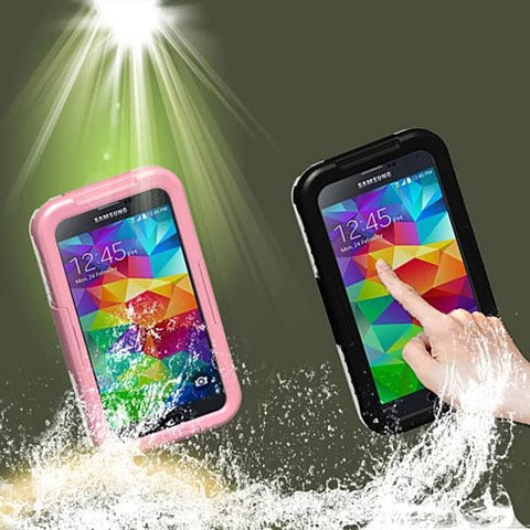 Waterproof Case for Samsung Galaxy 4 or Galaxy 5