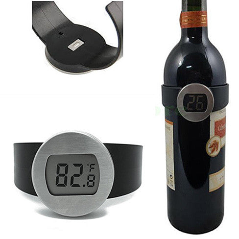 shopify-Wine Bottle Thermometer - Serve your wine at its perfect temp-1