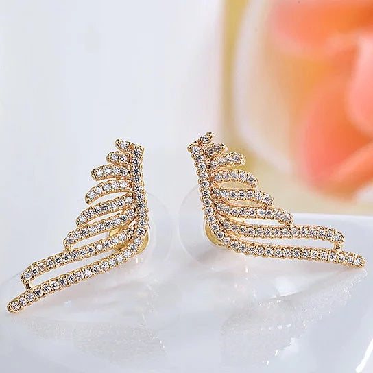 Angel Wings Fine Earrings