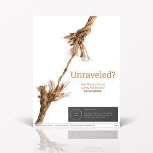 Unraveled poster (4106P1)