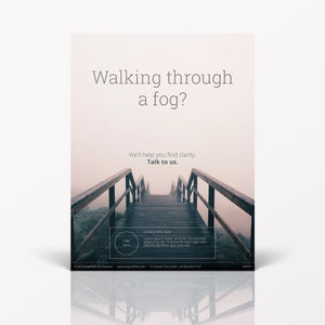 Walking Through A Fog poster (4607P1)