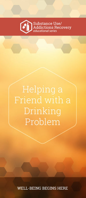 Helping a friend with a drinking problem pamphlet/brochure (6016S1)