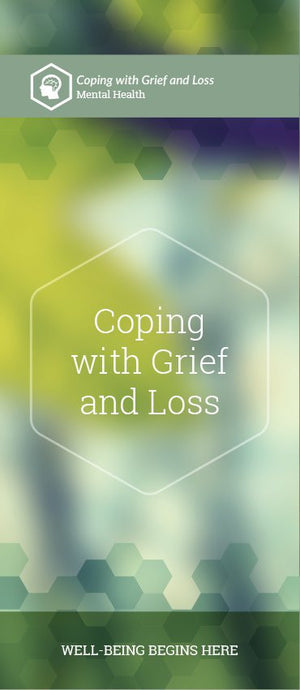 Coping with Grief and Loss pamphlet/brochure (6033M1)