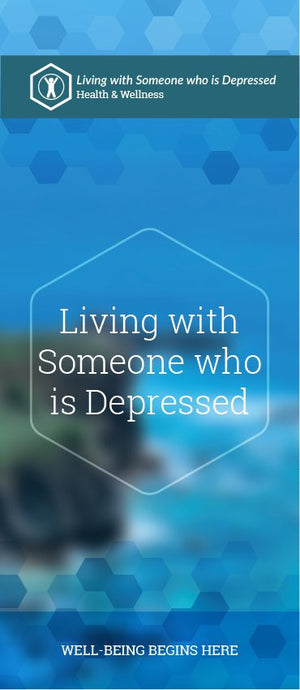 Living with Someone Who Is Depressed pamphlet/brochure (6035H1)
