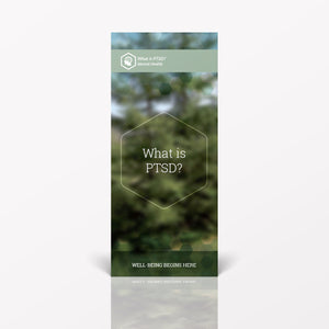 What Is PTSD? pamphlet/brochure (6036M1)