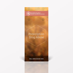 Prescription Drug Abuse pamphlet/brochure (6051S1)