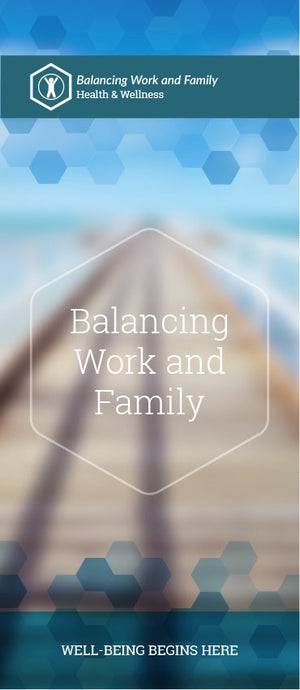 Balancing Work & Family pamphlet/brochure (6052H1)
