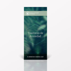 Spanish pamphlet on Anxiety Disorders