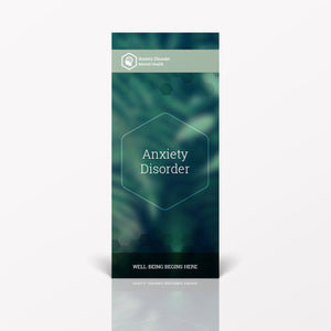 Anxiety Disorder pamphlet/brochure (6064M1)