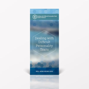 Dealing with Difficult Personality Traits pamphlet/brochure (6066H1)
