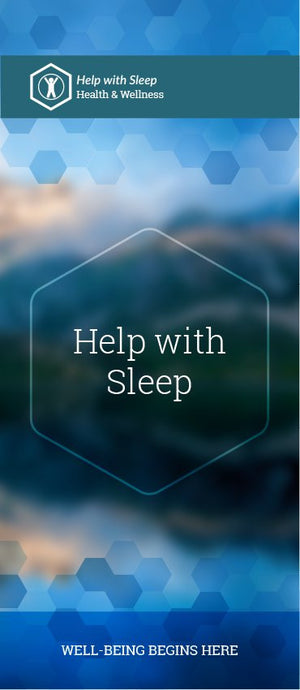 Help with Sleep pamphlet/brochure (6071)