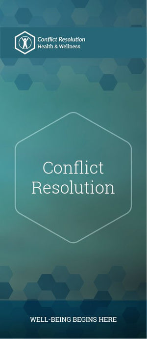 Conflict Resolution pamphlet/brochure (6074H1)